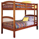 Coaster Youth Twin/Twin Bunk Bed in Oak 460173