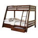 Coaster Youth Twin/Full Bunk Bed in Cappuccino 460228