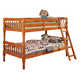 Coaster Youth Twin/Twin Bunk Bed in Light Brown 5040