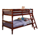 Coaster Youth Twin/Twin Bunk Bed in Cherry 5040CH