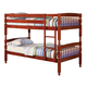 Coaster Youth Twin/Twin Bunk Bed in Cherry 460221