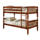 Coaster Youth Twin/Twin Bunk Bed in Brown 460223