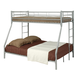 Coaster Youth Twin/Full Bunk Bed in Silver 460062