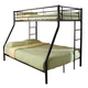 Coaster Youth Twin/Full Bunk Bed in Black 460062B