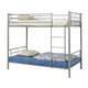 Coaster Youth Twin/Twin Bunk Bed in Silver 460072