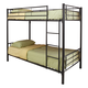 Coaster Youth Twin/Twin Bunk Bed in Black 460072B