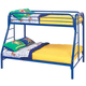 Coaster Youth Twin/Full Bunk Bed in Blue 2258B