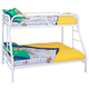 Coaster Youth Twin/Full Bunk Bed in White 2258W