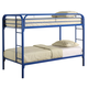 Coaster Youth Twin/Twin Bunk Bed in Blue 2256B