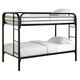 Coaster Youth Twin/Twin Bunk Bed in Black 2256K