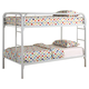 Coaster Youth Twin/Twin Bunk Bed in White 2256W