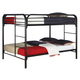 Coaster Youth Full/Full Bunk Bed in Black 460056K