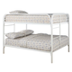 Coaster Youth Full/Full Bunk Bed in White 460056W