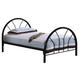 Coaster Youth Twin Panel Bed in Black 2389B
