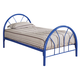Coaster Youth Twin Panel Bed in Blue 2389N