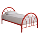 Coaster Youth Twin Panel Bed in Red 2389R