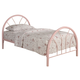 Coaster Youth Twin Panel Bed in Pink 2389P