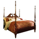 American Drew Cherry Grove Queen Pediment Poster Bed
