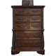 Liberty Furniture Highland Court 5 Drawer Chest in Rich Cognac Finish 620-BR41