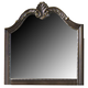 Liberty Furniture Highland Court Landscape Mirror in Rich Cognac Finish 620-BR51