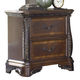 Liberty Furniture Highland Court 2 Drawer Night Stand in Rich Cognac Finish 620-BR61