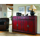 Hooker Furniture Seven Seas 58 inches Red Asian Cabinet 500-50-711 SALE Ends Nov 27