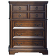 Liberty Furniture Laurelwood 5 Drawer Chest in Chestnut Finish 547-BR41