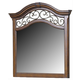 Liberty Furniture Laurelwood Mirror in Chestnut Finish 547-BR51