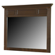 New Classic Drayton Hall Landscape Mirror in Bordeaux Finish 6740-060