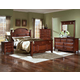 New Classic Drayton Hall Poster Bedroom Set in Bordeaux