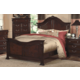 New Classic Emilie California King Bed in English Tudor Finish 1841-210