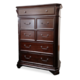 New Classic Emilie 7 Drawer Chest in English Tudor Finish 1841-070