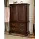 New Classic Emilie Armoire Top in English Tudor Finish 1841-081