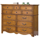New Classic Hailey 12 Drawer Dresser in Toffee Finish 4431-050