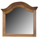 New Classic Hailey Landscape Mirror in Toffee Finish 4431-060