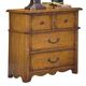 New Classic Hailey 4 Drawer Nightstand in Toffee Finish 4431-040