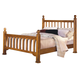 New Classic Honey Creek Queen Poster Bed in Caramel Finish 1133-312A