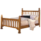 New Classic Honey Creek California King Poster Bed in Caramel Finish 1133-212A