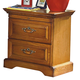 New Classic Honey Creek 2 Drawer Night Stand in Caramel Finish 1133-040