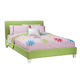 Standard Furniture Fantasia Upholstered Twin Platform Bed in Green 60753