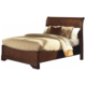 New Classic Sheridan Eastern King Sleigh Bed in Burnished Cherry Finish 00-005-110