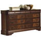 New Classic Sheridan Dresser in Burnished Cherry Finish 00-005-050