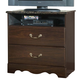 Standard Furniture Sorrento Two Drawer TV Chest in Abby Wood & Olympus Brown 4024