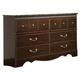 Standard Furniture Sorrento Six Drawer Dresser 59