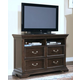 New Classic Timber City Media Chest in Sable Finish 00-007-078