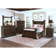 New Classic Timber City Storage Poster Bedroom Set in Sable
