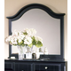 All-American Cottage Collection Landscape Mirror in Black