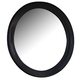 All-American Cottage Collection Round Mirror in Black