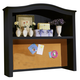 All-American Lodge Collection Computer Hutch in Black