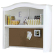 All-American Cottage Collection Computer Hutch in Snow White